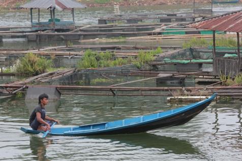 Village flottant.