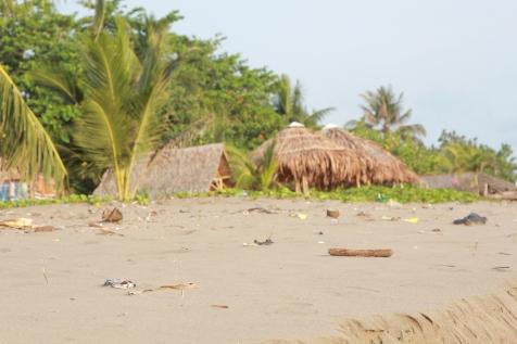 La plage à Pandangaran