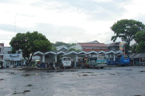 Gare routière de Pandangaran.