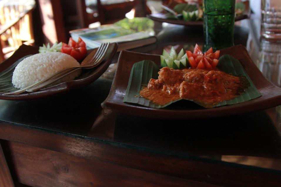 Repas à Ubud