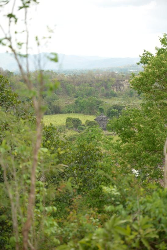 Vue du petit temple