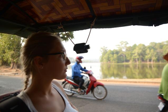 Depuis le tuktuk