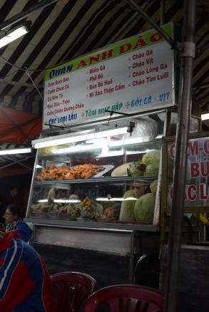 Street food à Dalat au Vietnam