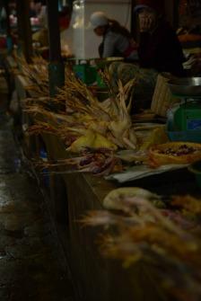 Pattes de poulet à Siem reap au Cambodge