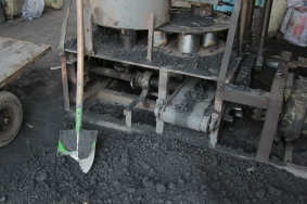 Fabrique de charbon