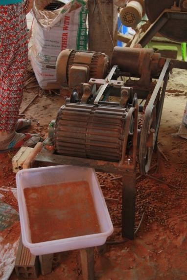 Fabrique de baguettes à la main !